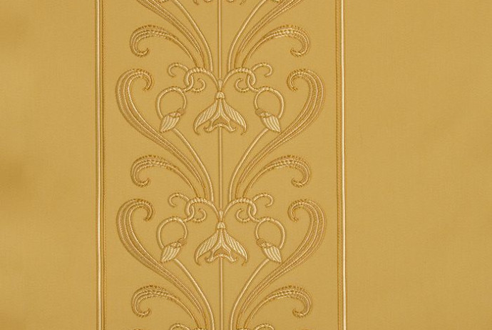 Mucha Stripe Gold